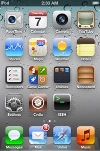 iOS 5 Jailbreak erfolgreich!