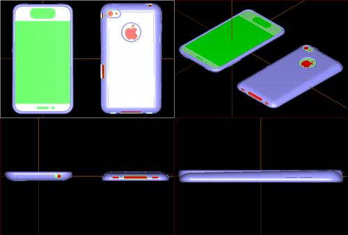 Sieht so das neue iPhone 5 aus?