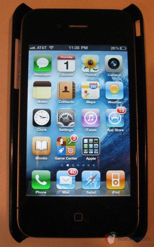 iphone 5 doch mit 4 zoll retina display. Black Bedroom Furniture Sets. Home Design Ideas