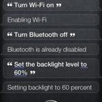Bluetooth einschalten mit Siri
