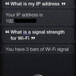 IP-Adresse mit Siri abfragen