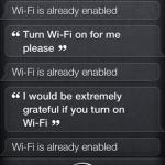 Wlan einschalten mit Siri