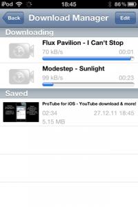 Download ProTube - die bessere iOS Youtube App (Cydia Jailbreak App) 1
