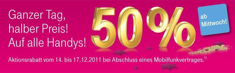 Telekom: Apple iPhone 4S zum halben Preis