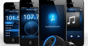 TuneLink Bluetooth FM Transmitter fürs Auto