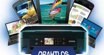 Epson WLAN Drucker Cashback Aktion