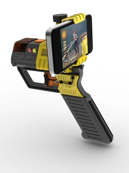 die zukunft der killerspiele iphone laser waffen f r. Black Bedroom Furniture Sets. Home Design Ideas