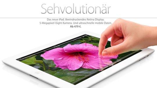 Das neue iPad