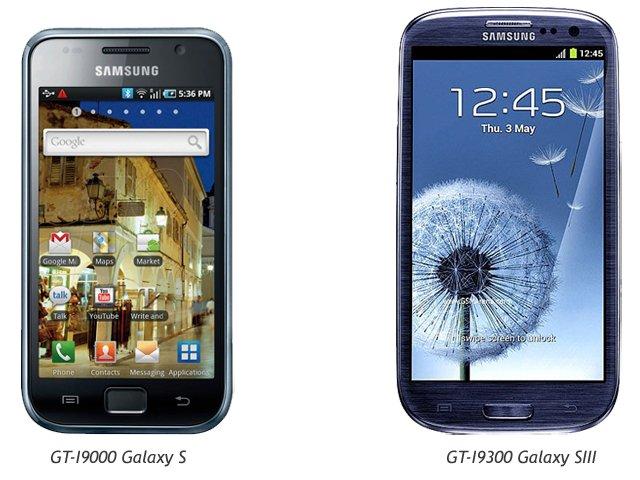 Display des Samsung Galaxy S3 NICHT mehr von metallischem Rahmen umgeben (sondern Plastik...)