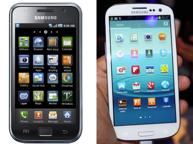 """Galaxy S3 jetzt ohne """"Dock-Leiste"""" am unteren Rand"""