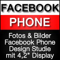 Fotos & Bilder zum neuen blauen Facebook Handy