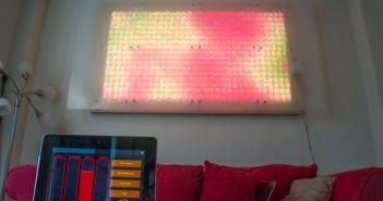 Riesige LED Wand gesteuert per iPad!