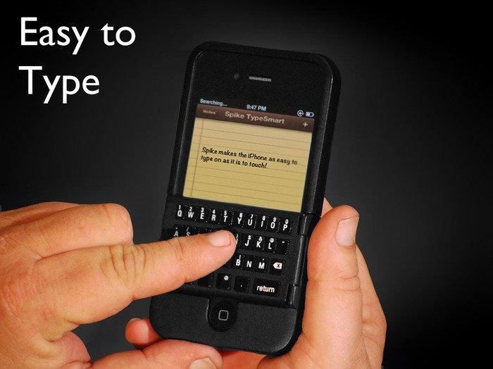 Spike - Blackberry Tastatur fürs iPhone