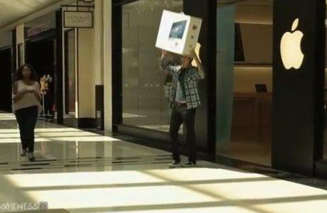 "Video: Apple iMac 27 Mal ""aus Versehen"" fallengelassen 1"