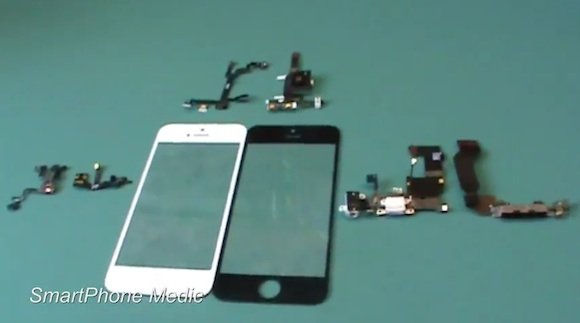 Video: Vergleich iPhone 5 mit iPhone 4S & Galaxy S3 (Bauteile)
