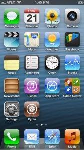 Jailbreak iPhone 5 mit Cydia