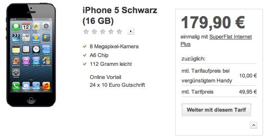 iPhone 5 vodafone - Bestellung nun möglich