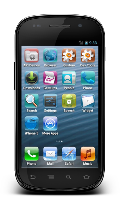Ios 6 Auf Android 4 1 Jelly Bean Iphone 5 Launcher Macht