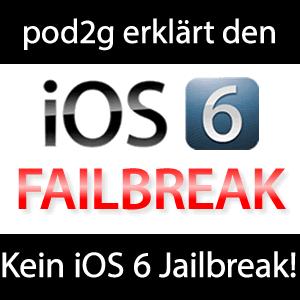 Failbreak iOS 6 Jailbreak pod2g JailbreakCon 2012!