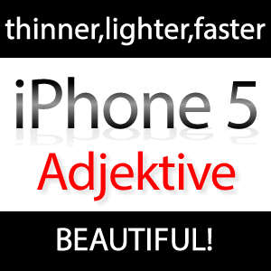 iPhone 5: thinner, lighter, faster, beautiful