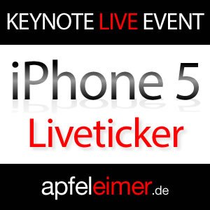 iPhone 5 Keynote: Live-Ticker & Live-Streams Apple iPhone 5 Keynote 1
