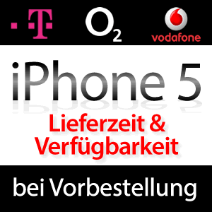 lieferzeit verf gbarkeit iphone 5 bei vodafone und telekom. Black Bedroom Furniture Sets. Home Design Ideas