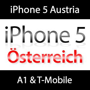 Verkaufstart Österreich: iPhone 5 bei A1 und T-Mobile
