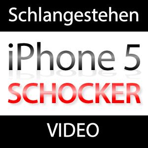 Video: iPhone 5 Schock