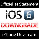 Musclenerd / iPhone Dev-Team iOS 6 offizielles Statement