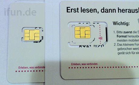 Telekom Nano-SIM iPhone 5