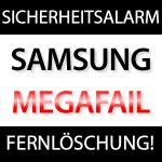 Samsung Sicherheitsalarm: USSD Fernlöschung übers Internet möglich!