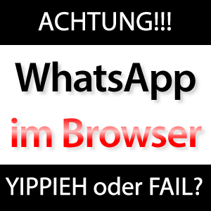 WhatsApp im Browser