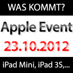 Was zeigt uns Apple am 23. Oktober?