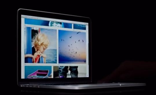 apple ver ffentlicht 13 zoll retina macbook pro werbung. Black Bedroom Furniture Sets. Home Design Ideas