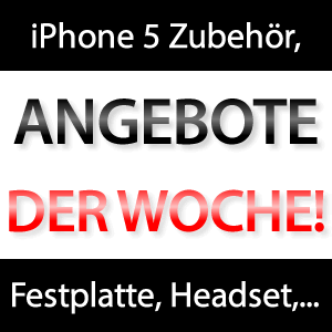 Schnäppchen: USB 3.0 Festplatte, iPhone 5 Hüllen & Zubehör, Headset,...