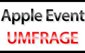 Umfrage zum Apple iPad Mini Event