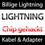 Lightning Kabel bald billiger aus China?