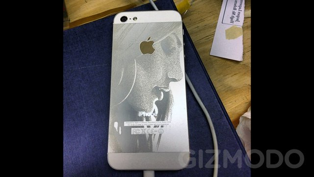iPhone 5: Lasergravur mit WOW-Effekt! (Fotos + Video)
