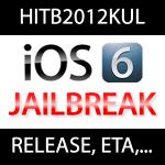 iOS 6 Jailbreak Release Termin? pod2g & musclenerd auf HITB2012KUL