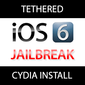 Cydia für tethered iOS 6 Jailbreak iPhone 4, iPhone 3GS!