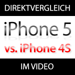 Vergleich iPhone 5 mit iPhone 4S im Video (Benchmarks, Performance, Speed)