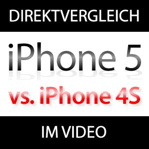 Vergleich iPhone 5 mit iPhone 4S im Video (Benchmarks, Performance, Speed)