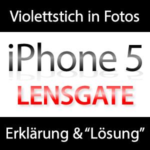 iPhone 5 Lensgate
