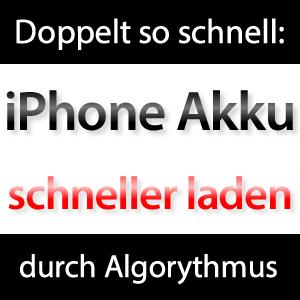 iPhone Akku schneller laden?