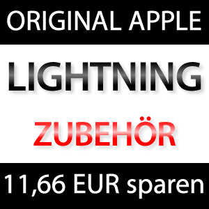ABSTAUBEN! Original Apple iPhone 5 Lightning Zubehör mit 11,66 EUR Rabatt! (Lightning 30-Pin Dock Adapter, Lightning USB-Kabel, uvm)