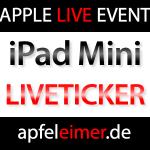 Liveticker & Livestream iPad Mini Keynote!