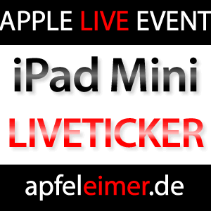 Liveticker & Livestream iPad Mini Keynote!