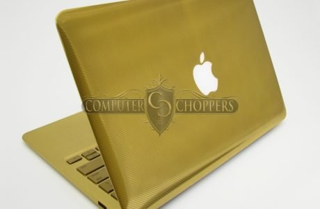 Macbook Air 24 Karat Gold!