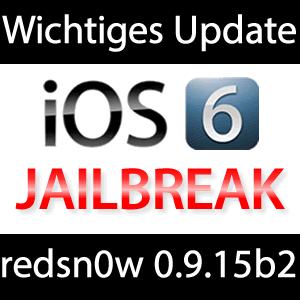 Redsn0w 0.9.15b2 Download: Update für iPhone 3GS iOS 6 tethered Jailbreak!