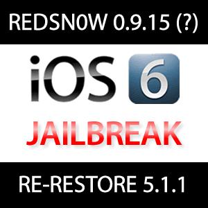Redsn0w 0.9.15 mit Re-Restore iOS 5.1.1 in Kürze